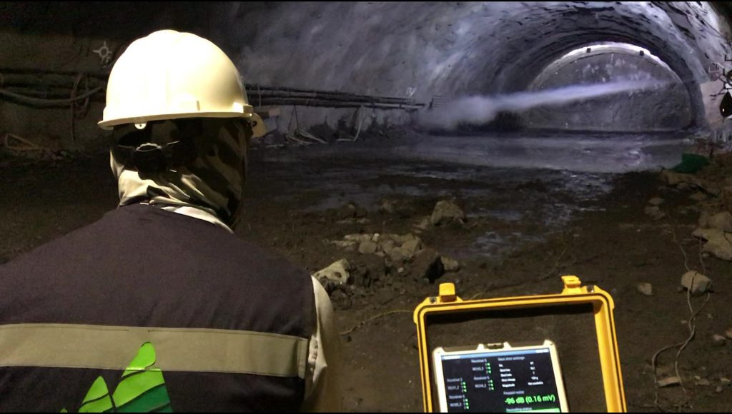 Ensayo TSP Túnel